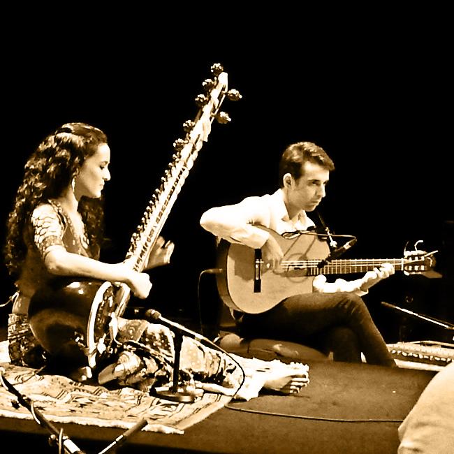 Daniel Jimenez Melon y Anoushka,
